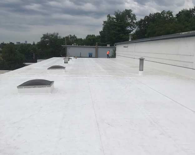 Commercial flat-roof-after